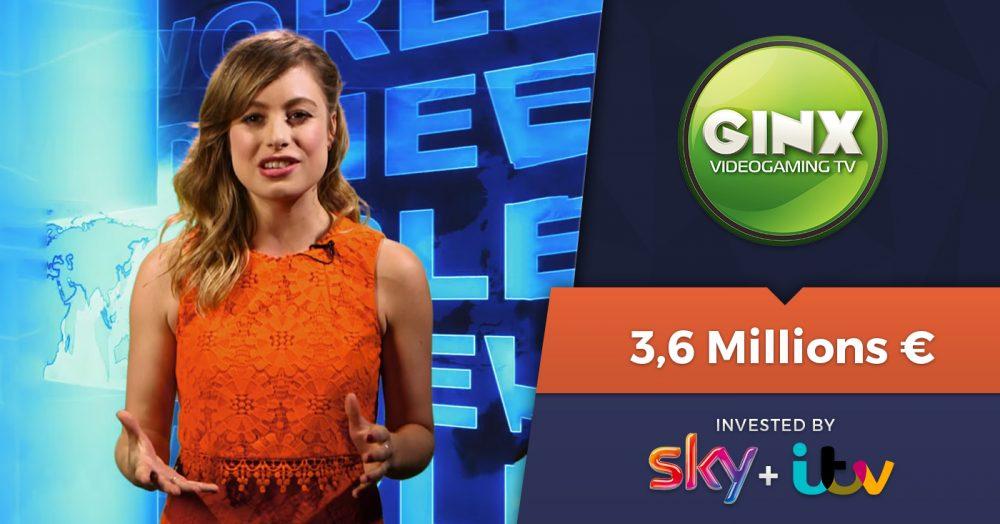 Sky et ITV investissent 3,6 millions d'euros dans Ginx TV